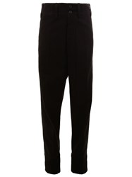 Ann Demeulemeester Drop Crotch Pants Black