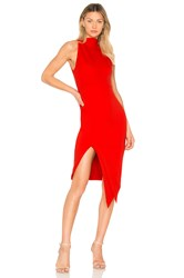 Elliatt Carmen Dress Red