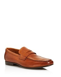Gordon Rush Men's Connery Calf Leather Loafers Cognac