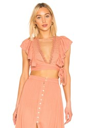 House Of Harlow X Revolve Juniper Top Pink