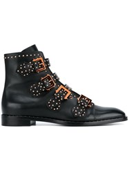 Givenchy Stud Embellished Ankle Boots Black