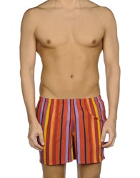 Gallo Swimwear Swimming Trunks Orange