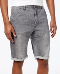 Gstar Men's Tapered Leg Folded Cuff Denim Shorts Medium Age