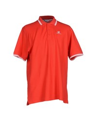 Pierre Balmain Topwear Polo Shirts Men Red