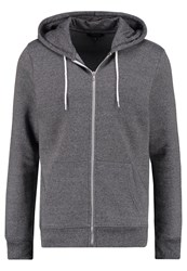 New Look Tracksuit Top Grey Mottled Grey
