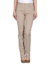 Gattinoni Denim Pants Beige