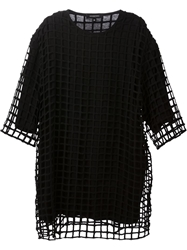 Unconditional Mesh Layered T Shirt