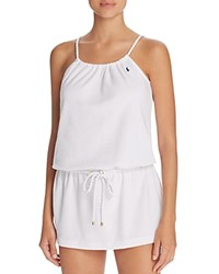 Ralph Lauren Polo Terry Rope Dress White