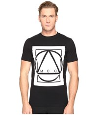 Mcq By Alexander Mcqueen Graphic Logo Short Sleeve T Shirt Darkest Black Men's T Shirt