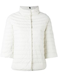 Duvetica Padded Down Jacket Women Feather Down Polyamide 44 White