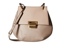 Ivanka Trump Turner Pancake Crossbody Buff Cross Body Handbags Tan