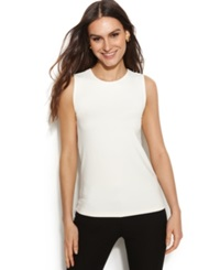 Alfani Sleeveless Layering Tank Top Fresh Cream