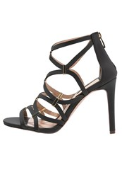 Dorothy Perkins Safari High Heeled Sandals Black