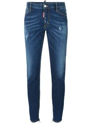Dsquared2 'Medium Waist Twiggy' Jeans Blue