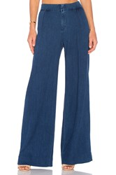 Joe's Jeans Bessie Wide Leg Trouser Medium Blue