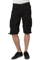 Alpha Industries Jet Shorts Schwarz Black