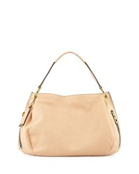 Kerry Leather Shoulder Bag Almond Brown Oryany