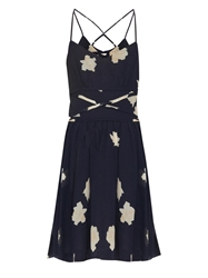 Band Of Outsiders Floral Print Seersucker Dress