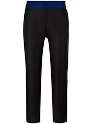 La Perla 'Opt Art' Straight Trousers Black