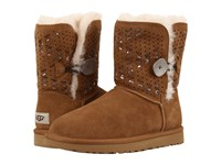 Ugg Bailey Button Ii Tehuano Chestnut Women's Boots Brown
