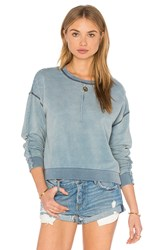 Joe's Jeans Luna Sweatshirt Light Blue