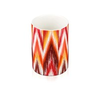 Moeve Ikat Toothbrush Holder Red