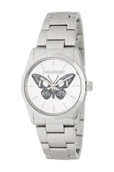 Zadig And Voltaire Woman's Butterfly Old Co Bracelet Watch Metallic