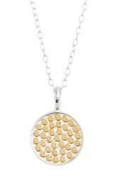 Women's Anna Beck 'Circle Of Life' Reversible Pendant Necklace