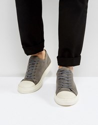 Kg By Kurt Geiger Lo Sneakers In Gray Suede Gray