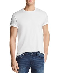 Bloomingdale's The Men's Store At Pima Cotton Crewneck Tee 100 Exclusive White