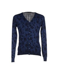 Fifty Four Knitwear Cardigans Men Dark Blue
