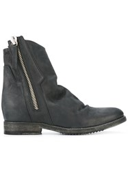 Cinzia Araia Side Zip Boots Black