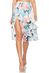 Lovers Friends Right Now Skirt Teal