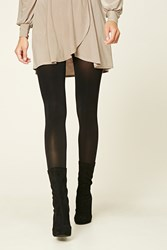 Forever 21 Opaque Tights Black
