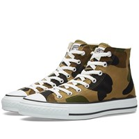 A Bathing Ape 1St Camo Sta Hi Green