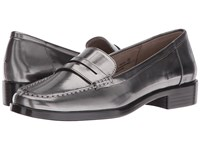 Aerosoles Main Dish Dark Silver Metal Women's Slip On Dress Shoes