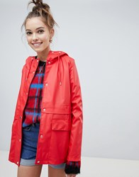 Only Rain Coat Red