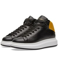 Alexander Mcqueen Wedge Sole High Sneaker Black