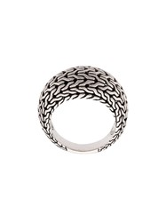 John Hardy Classic Chain Dome Ring Silver