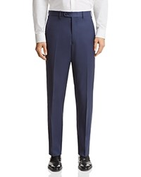 Bloomingdale's The Men's Store At Classic Fit Solid Dress Pants 100 Exclusive French Blue