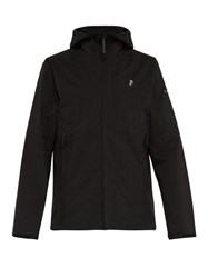 Peak Performance Daybreak Hooded Jacket Black