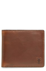 Frye Men's David Leather Wallet Brown