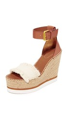 See By Chloe Wedge Espadrilles Canvas