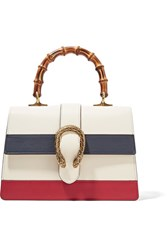 Gucci Dionysus Bamboo Medium Leather Tote Ivory