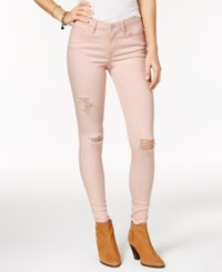 American Rag Ripped Mellow Rose Wash Skinny Jeans Only At Macy's