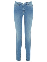 Warehouse Powerhold Skinny Jeans Light Wash