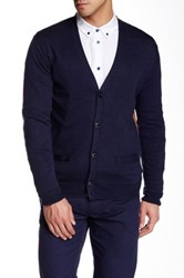 Marc By Marc Jacobs Classic Colorblock Cardigan Blue