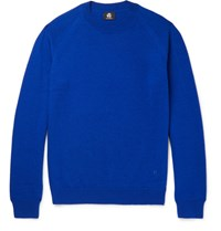 Paul Smith Ps By Slim Fit Merino Lambswool Sweater Bright Blue