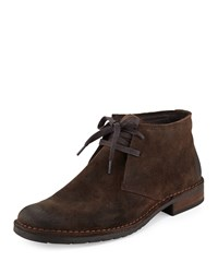 John Varvatos Star D Suede Chukka Boot Mocha Brown