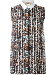 N 21 N.21 'Chelsie' Sleeveless Shirt Multicolour